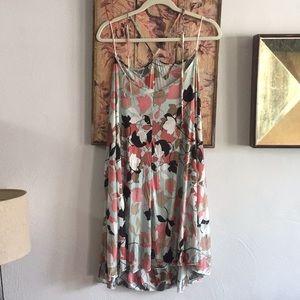 NEW MISSONI ITALY VISCOSE FLORAL DRESS 40 S M